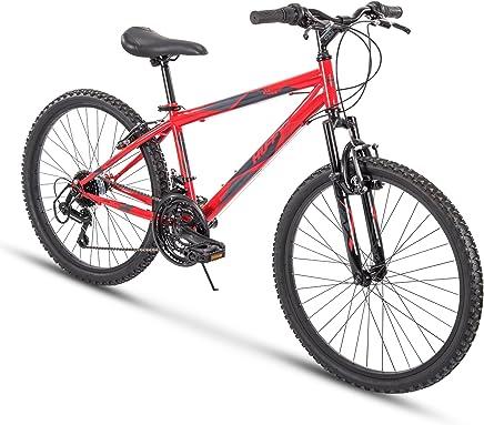 b588f05762d Huffy Hardtail Mountain Bike, Summit Ridge 24-26 inch 21-Speed, Lightweight