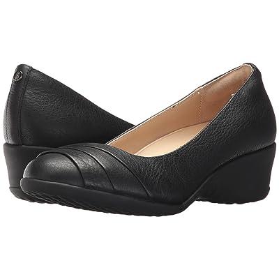 Hush Puppies Jalaina Odell (Black Leather) Women