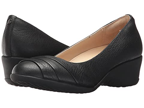 Hush Puppies Jalaina Odell Black Leather Cheap Sale New Arrival SfoFq8z