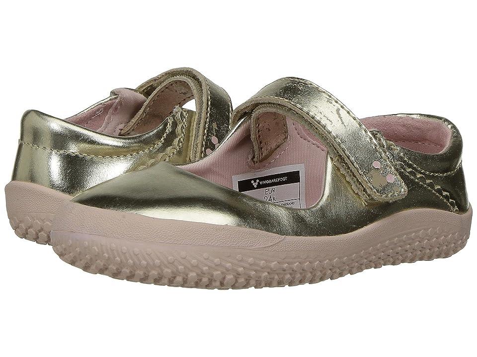 Vivobarefoot Kids Wyn (Toddler/Little Kid) (Gold) Girls Shoes