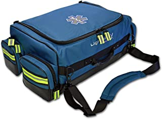 Lightning X Modular X-Tuff Oxygen Trauma Bag w/Zip-Out Cylinder Pocket & Removable Pouches - Navy Blue