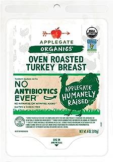 Applegate, Organic Oven Roasted Turkey Breast, 6oz