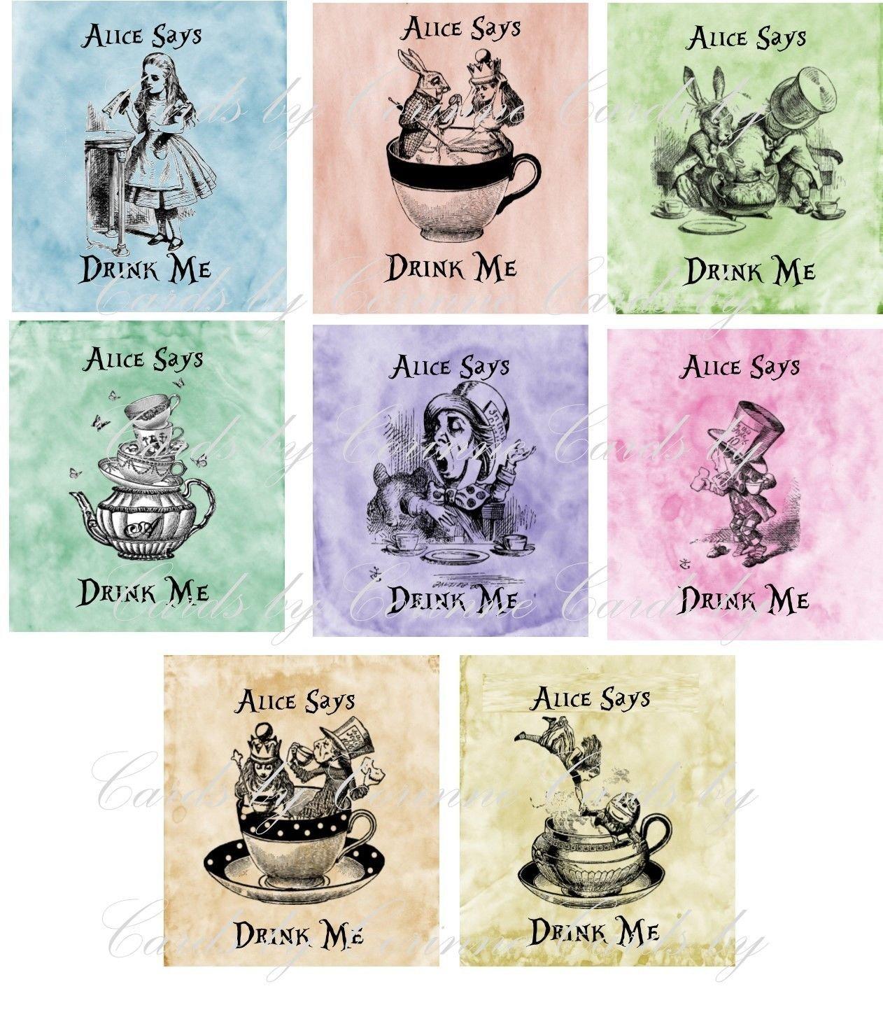 Alice in Wonderland 8 tea decoration. Ranking TOP7 Excellent party bag favor envelopes