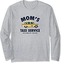 Mom's Taxi Service Funny Busy Parent Mother's Day Gift  Long Sleeve T-Shirt