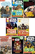 Dk Reader Star Wars Set (8 Books) : Watch Out for Jabba the Hut; Don't Wake the Zillo Beast; Tatooine Adventures; What Is a Wookie; Pirates and Worse; Journey Through Space; Star Wars Lego the Phantom Menace; Yoda in Action (Book Sets for Kids : DK Reader Level 1 - 4)