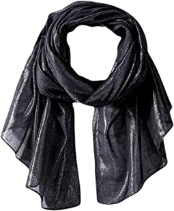 Liquid Lurex Oblong Scarf