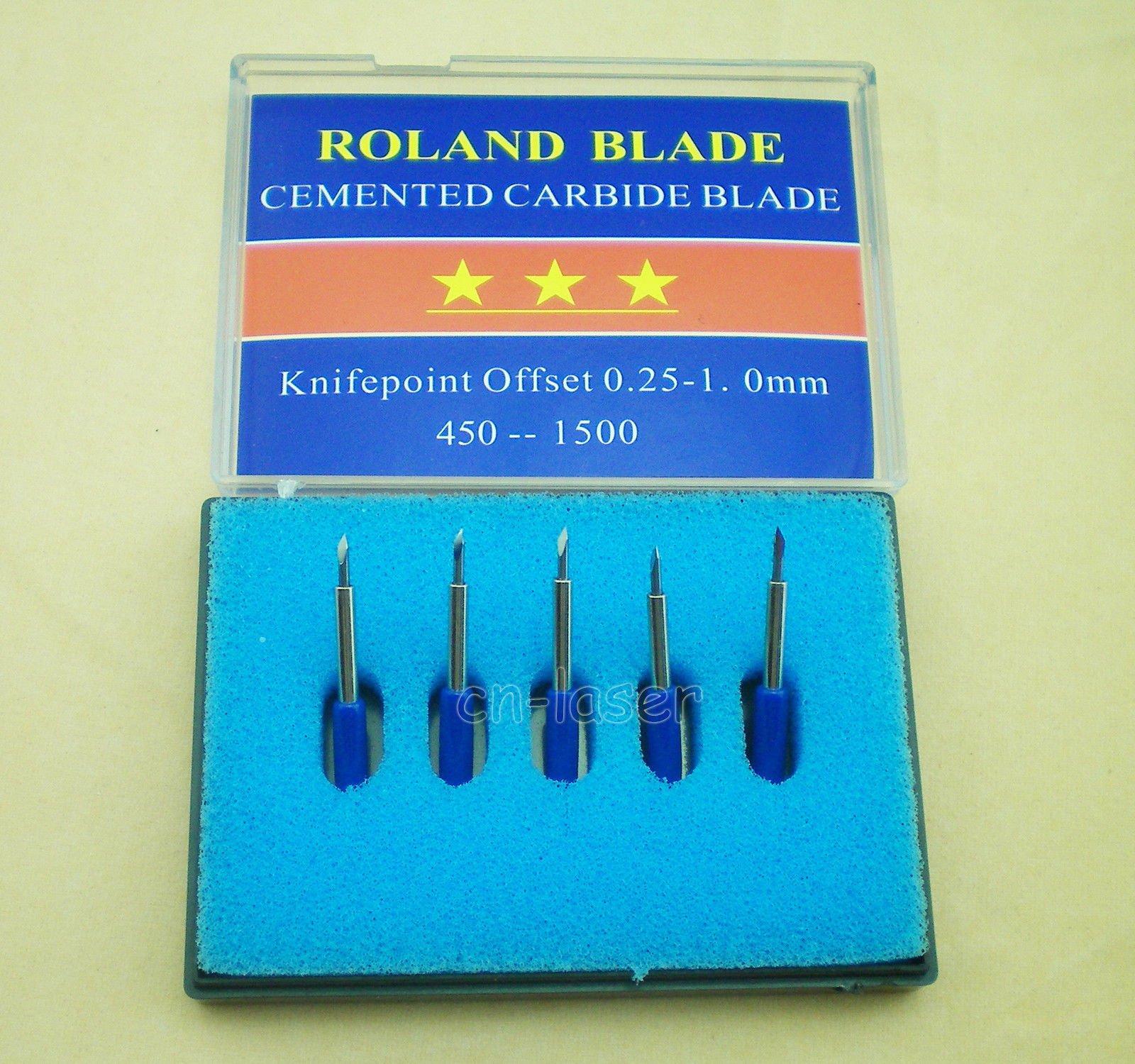1 soporte + 15 Pcs mezcla de 30 45 60 grados Cuchillas para Roland Vinyl Cutter Blade Soporte: Amazon.es: Amazon.es
