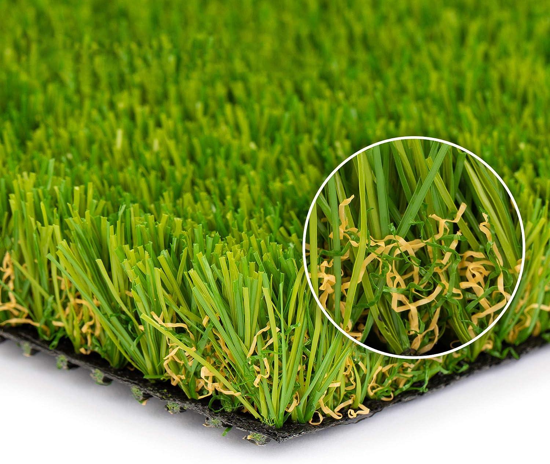 SMARTLAWN PROFESSIONAL Realistic Artificial 6.5'X12' Grass Rug Award free shipping