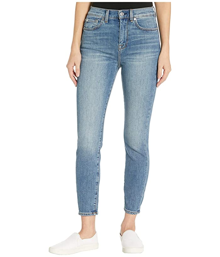 7 For All Mankind  High-Waist Ankle Skinny in Telluride (Telluride) Womens Jeans