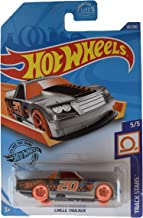 Hot Wheels Track Stars 5/5 Circle Trucker 131/250, Silver/Orange