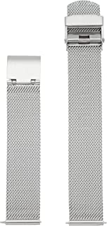 Skagen Women's 16mm Stainless Steel Mesh Watch Strap, Color: Silver-tone (Model: SKB2045)