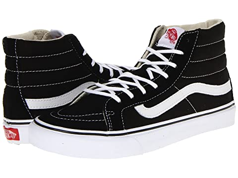 Sk8 Core Classics WhiteNavy WhiteBlack Vans True White Canvas Hi Slim R6wxqfA