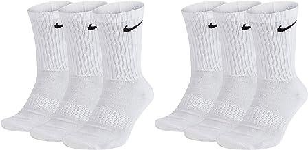 Nike 6 paar sokken heren dames wit grijs zwart tennissokken sportsokken spaarset SX7664 maat 34 36 38 40 42 44 46 48 50