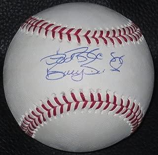barry bonds autographed baseball