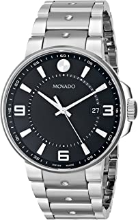 Movado Men's 0606761 SE. Pilot Stainless Steel Watch with Bracelet Band