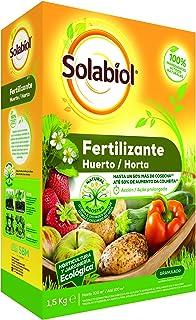 Solabiol - Abono para huertos 100% organico, 1,5Kg
