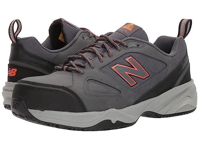 New Balance  627v2 (Grey/Orange) Mens Cross Training Shoes