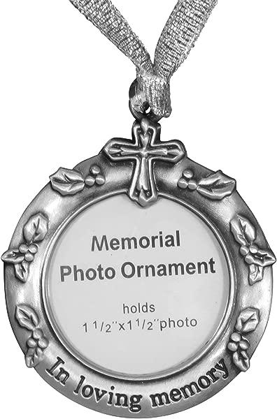 Ganz Remembrance Memorial Photo Ornament In Loving Memory
