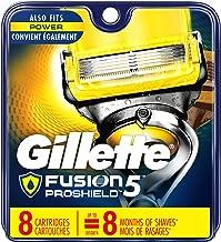 Gillette Fusion Pro-Shield Men's Razor Blade Refills, 8 Count