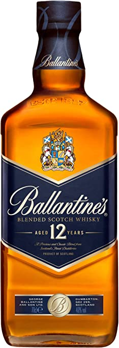 Ballantine's 12 Year Old Blended Scotch Whisky , 700 ml