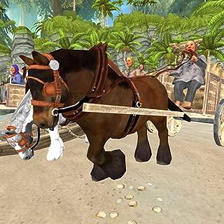 horse cart racing