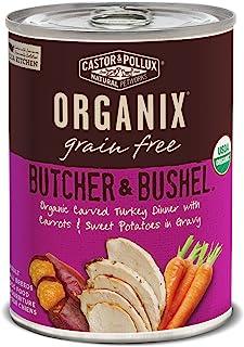 Sponsored Ad - Castor & Pollux Organix Butcher & Bushel Grain Free Organic Canned Dog Food, 12 Count 12.7 Oz