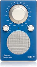 Tivoli Audio PALBTGB PAL BT - Bluetooth Portable AM/FM Radio (High Gloss Blue/White)