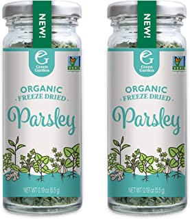 Green Garden Organic Freeze-Dried Parsley, 0.19 Ounces, 2-Pack