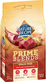 Nature's Recipe Prime Blends Dry Dog Food, Grain Free
