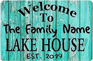 Lake House Sign ~ Family Name Lake House Rules Sign ~ Lake House Decor ~ Lake Sign ~ Lake Life ~ Sign For Lake House ~Lake House Wall Art