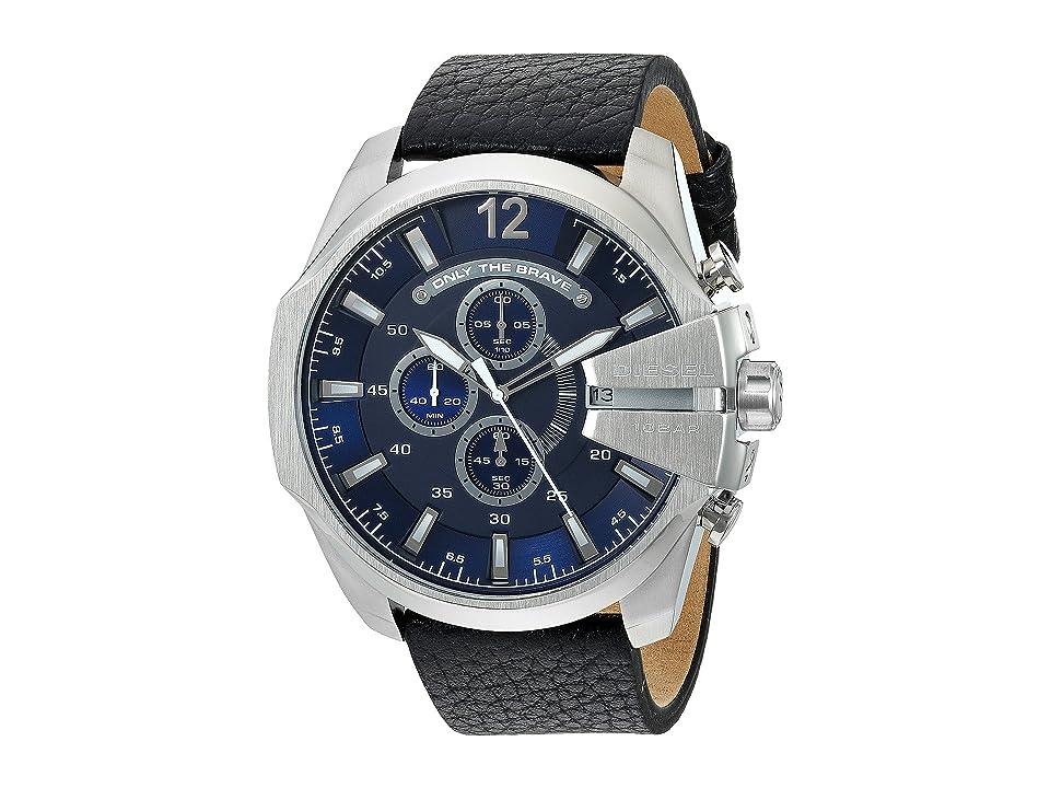 Diesel Mega Chief - DZ4423 (Black) Watches