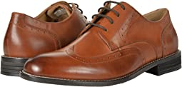 Nunn Bush Slate Wing Tip Oxford