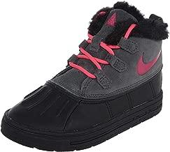 NIKE Woodside Chukka 2 (TD) Infant/Toddler's Boots Anthracite/Hyper Pink/Black 859427-001