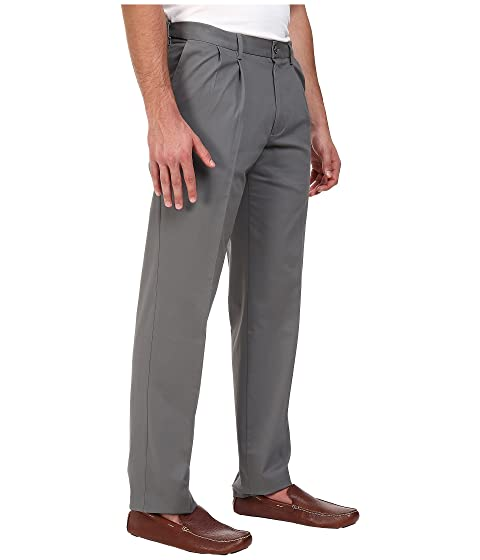 Sale Low Price Fee Shipping Dockers Big & Tall Signature Khaki D3 Classic Fit Pleated Burma Grey Stretch Discount Free Shipping Outlet Low Price Fee Shipping Sale Very Cheap PaBHs