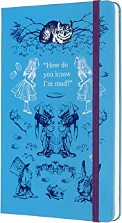 Moleskine Limited Edition Alice In Wonderland 18 Month 2019-2020 Weekly Planner, Hard Cover, Large (5