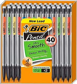BIC VLGBP41-Blu Velocity Bold Retractable Ball Pen, Bold Point (1.6mm), Blue, 4-Count