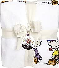 Berkshire Halloween Blanket Peanuts Velvet Soft Plush Blanket (Snoopy Characters in Costumes)