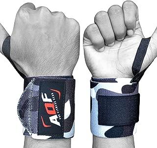 AQF Protege Poignet Les Bandages Serre Attelle Poignet De Force Musculation Prennent en Charge Courroies De Poing Au Cours De Lentra/înement De Sport
