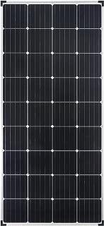 Módulo de panel solar monocristalino de enjoysolar® de 150 vatios y 12 voltios, ideal para el jardín o la caravana