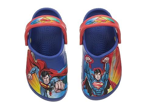 7f31b9fa96889 Crocs Kids FunLab Superman Clog (Toddler Little Kid) at 6pm