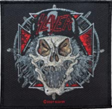Slayer Slaytanic Wehrmacht Skull Patch Thrash Metal Music Woven Sew On Applique