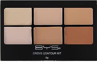 BYS Contour Cream Palette - Contour is Key - Neutral Shades. Crème Contour Palette