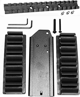 Trinity hr1871 NEF Pardner Pump Accessories Base Single Rail Scope Mount Adapter Picatinny Weaver Rings Aluminum Black and Shell Holder 12ga Ammo Pouch Hunting Tactical slug