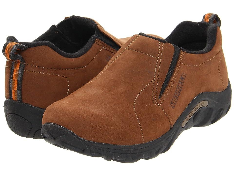 Merrell Kids Jungle Moc Nubuck (Toddler/Little Kid/Big Kid) (Brown) Boys Shoes