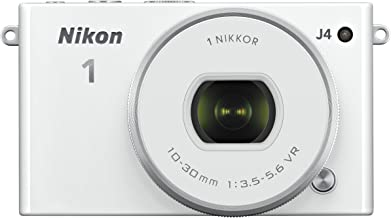 Nikon 1 J4 Digital Camera with 1 NIKKOR 10-30mm f/3.5-5.6 PD Zoom Lens (White) (Discontinued by Manufacturer)
