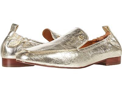Tory Burch 20 MM Kira Elastic Loafer (Spark Gold/Spark Gold) Women