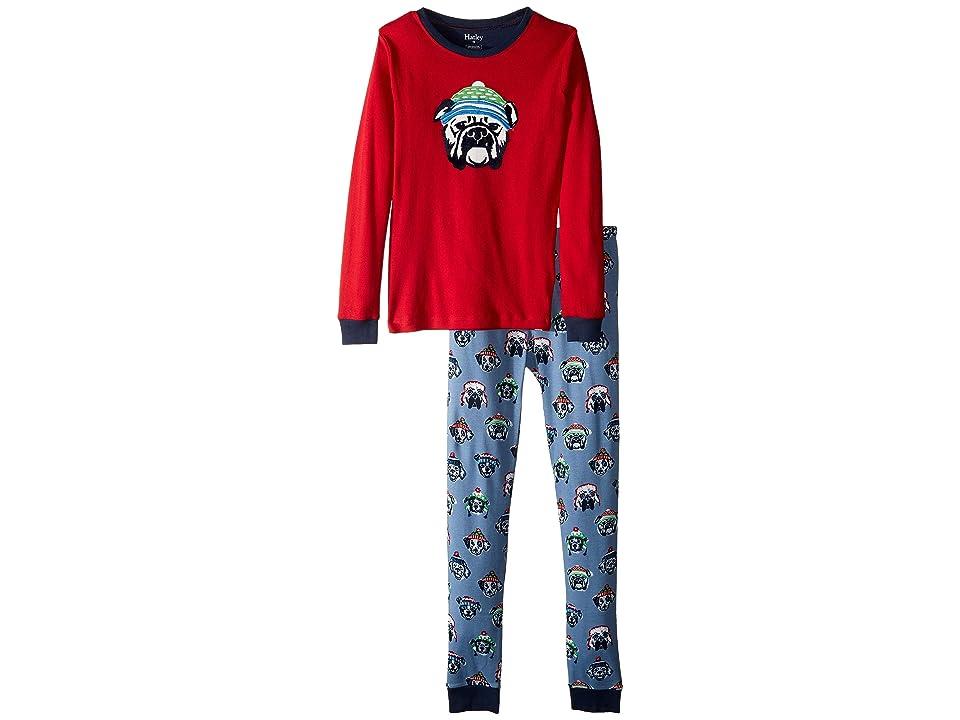 Hatley Kids - Hatley Kids Cozy Pups Organic Cotton Applique Pajama Set