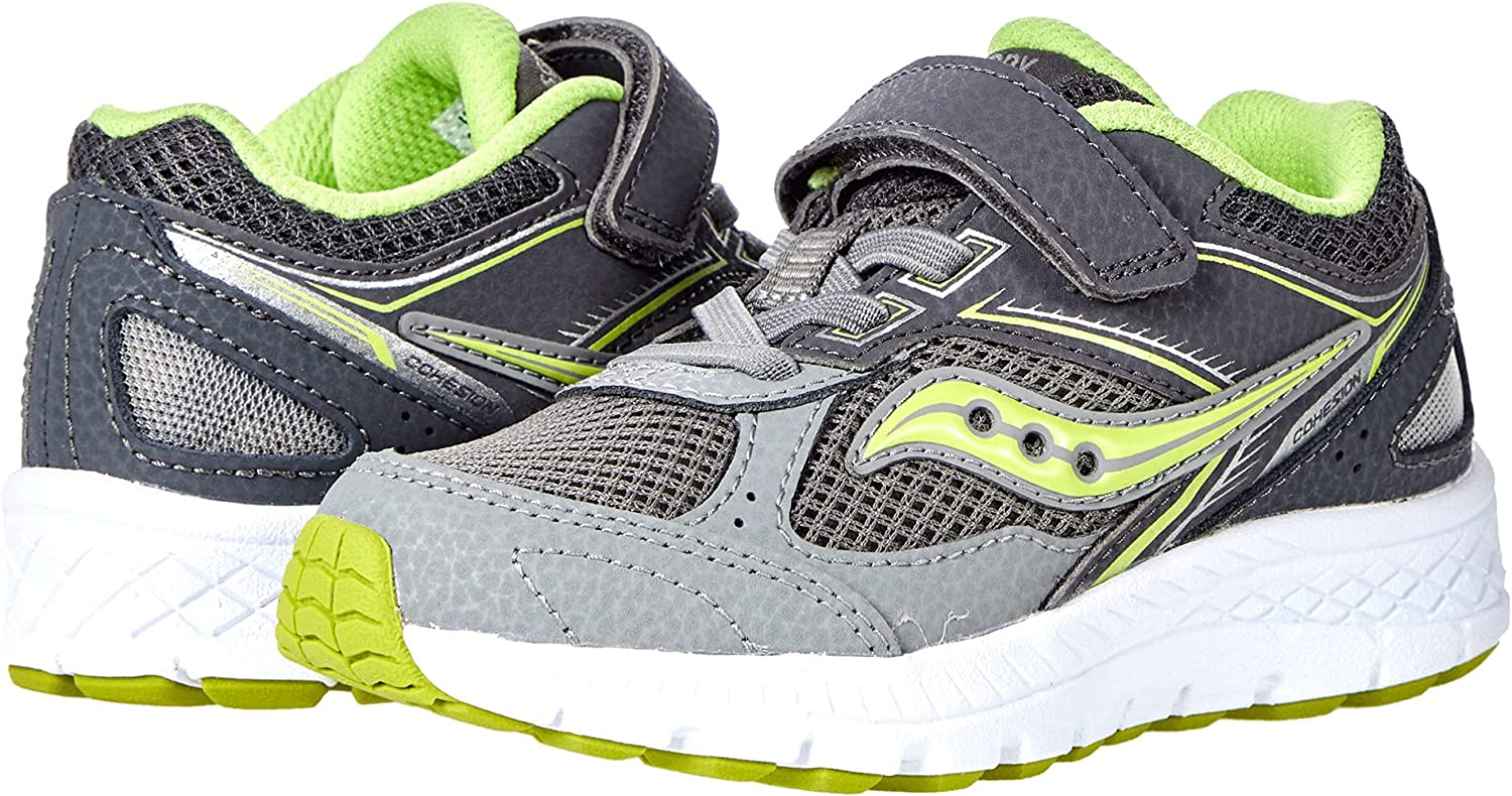 Saucony Cohesion 14 Alternative Clearance SALE Limited time Closure Citro Grey Shoe Running Purchase