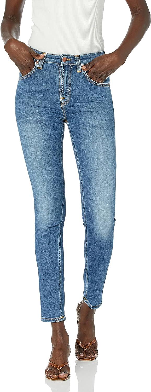 Nudie Jeans Women's Hightop Tilde Blue Stellar