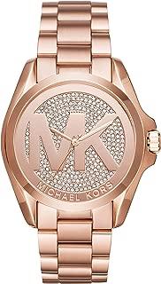 Women's Bradshaw Rose Gold Tone Stainless Steel Watch MK6437